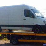 Legnica: Policyjny pościg za skradzionym Mercedesem Sprinterem