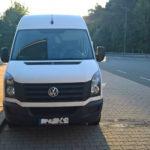 VW Crafter z Polski skradziony w Holandii – za kierownicą Litwin