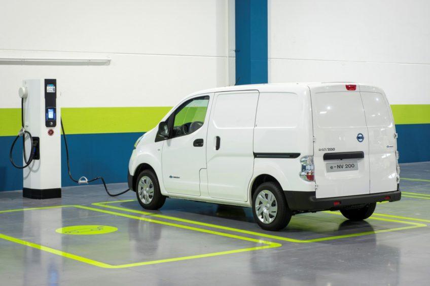 Elektryczne Nissany e-NV200 do wynajęcia we Wrocławiu od listopada
