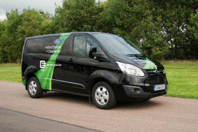 Ford Transit Custom z silnikiem 1.0 EcoBoost – hybrydowy dostawczak