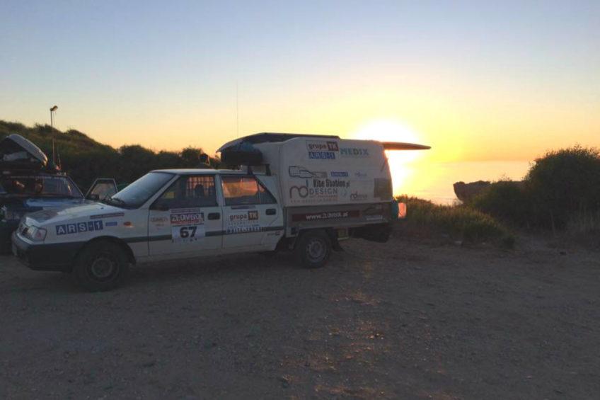 Polonez Truck na krańcu Europy – kiedyś robol teraz podróżnik