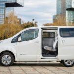 Nissan e-NV200 ze zwiększonym o 100 kilometrów zasięgiem