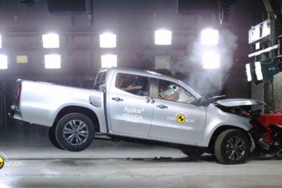 Mercedes-Benz X-klasa z 5 gwiazdkami w teście Euro NCAP