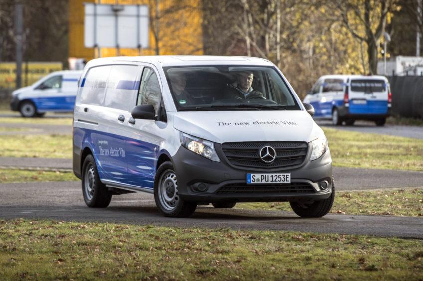 Mercedes-Benz eVito – zasięg do 150 km i ponad 1000 kg ładowności