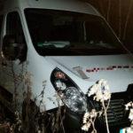 Nocny pościg za skradzionym Renault Master – kierowca uciekł