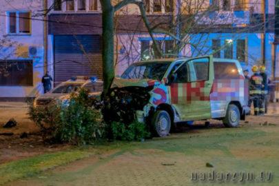 Pościg za skradzionym Volkswagenem T5 – złodziej zmarł w szpitalu