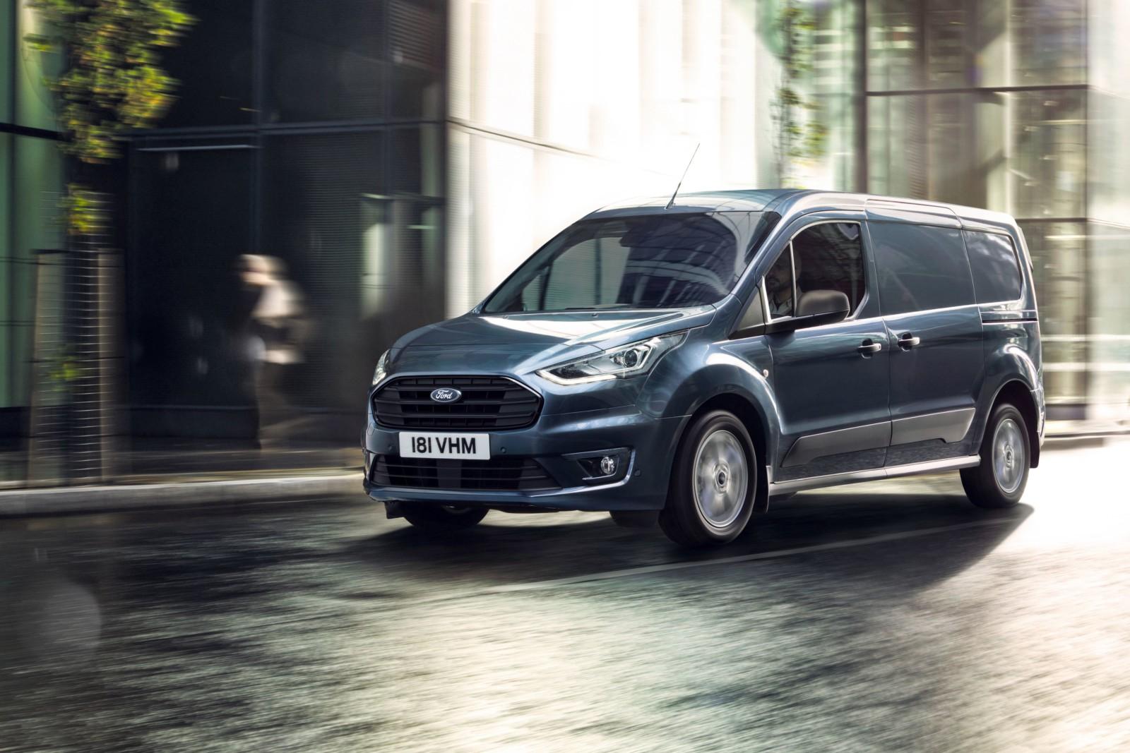 Ford Transit Connect po faceliftingu na rynku od połowy ...