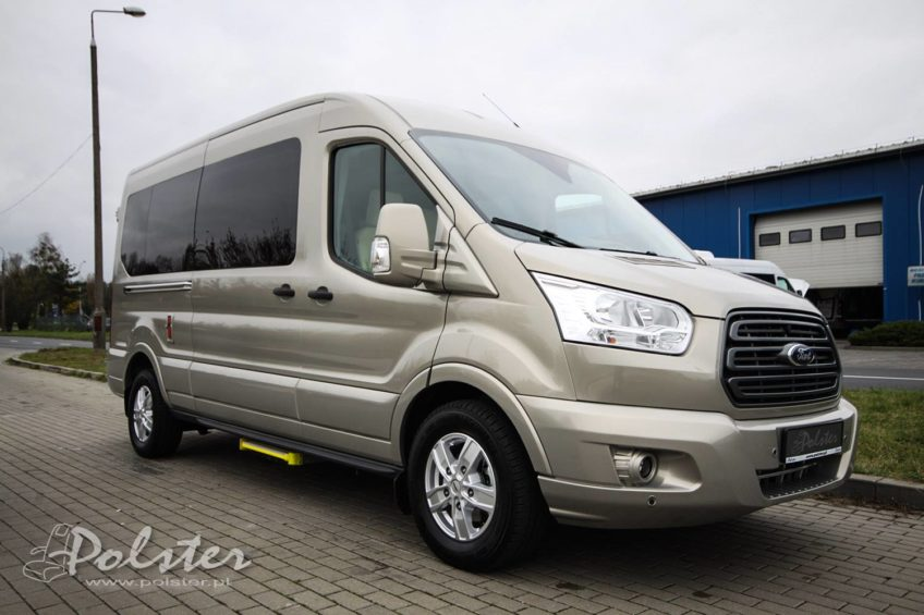 Ford Transit od firmy Polster – luksusowy minibus dla 9 osób
