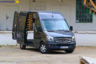 Test: Mercedes Sprinter 314 CDI – furgon L2H2 (wideo, zdjęcia)