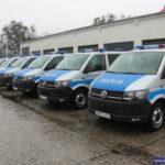 Nowe Volkswageny Transportery dla dolnośląskiej policji