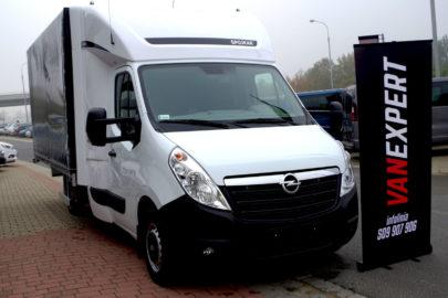 "Opel Movano z ""plecakiem"" na trasy międzynarodowe od VanExpert.pl"