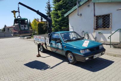 Polonez Truck z HDS-em o udźwigu 840 kg jest do kupienia