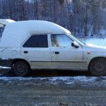 Skoda Felicia Van Plus napotkana przypadkiem w Bieszczadach