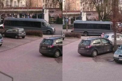 Bardzo długi Sprinter przyłapany przez Kacpra w Toruniu