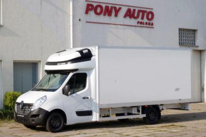 Kontener zespolony z kabiną i podwójną leżanką od Pony Auto Polska