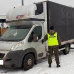 Peugeot Boxer odnalazł się na polsko-białoruskiej granicy