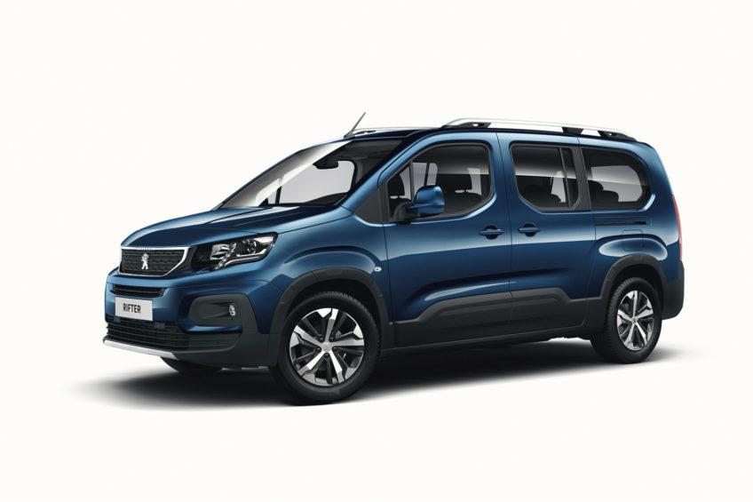 Peugeot Rifter – następca Partnera z silnikami od 75 do 130 KM