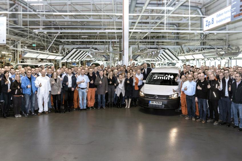 2 miliony sztuk modelu Caddy powstało w zakładach VW Poznań
