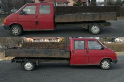 Mocno przedłużony Volkswagen T4 szuka nowego właściciela