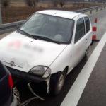 Na feldze i za sznurek po S3 – Seicento Van holowane przez Matiza