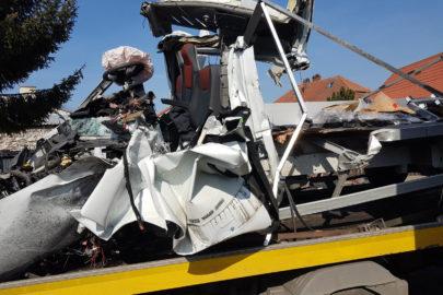 Wypadek busa na DK 92 – 2 osoby z Renault Master w szpitalu