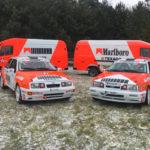Kaczka jako wóz serwisowy zespołu rajdowego Gazmot Motorsport