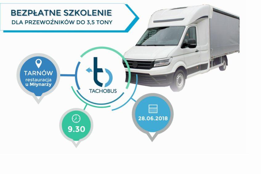 Bezpłatne szkolenie dla transportu do 3,5 tony – Tarnów 28 czerwca