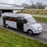 Nowy Sprinter City – fabryczny autobus na testach drogowych