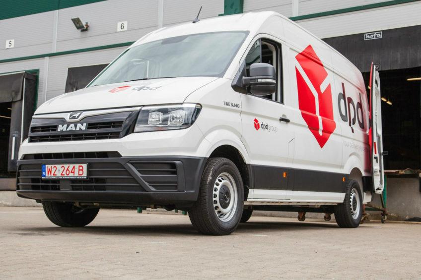 140 kurierskich furgonów MAN TGE 3.140 dla DPD Polska