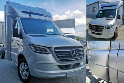 Mercedes Sprinter III z kabiną Spojtrak – nowość firmy Spojkar