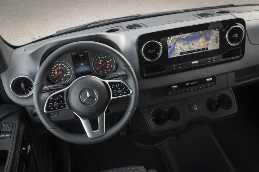 Nowy Mercedes-Benz Sprinter – proszę mówić!