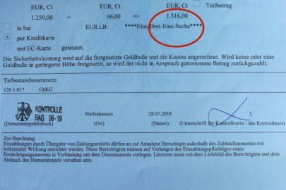 1316 euro za nielegalny kabotaż polskim busem od BAG