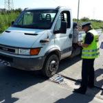 Kolejna ciężarówka na kategorię B – Iveco Daily ważyło 8500 kg