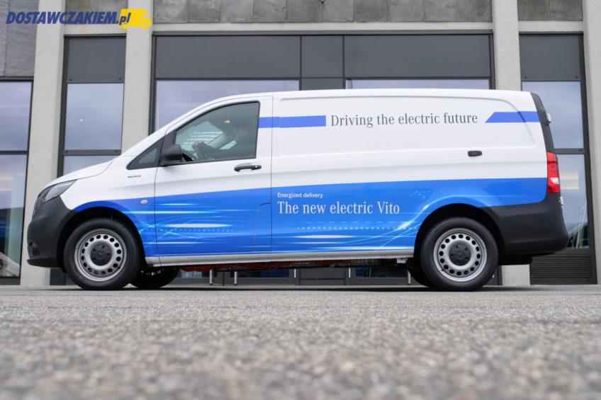 Mercedes-Benz eVito – pierwsza jazda elektrycznym W447