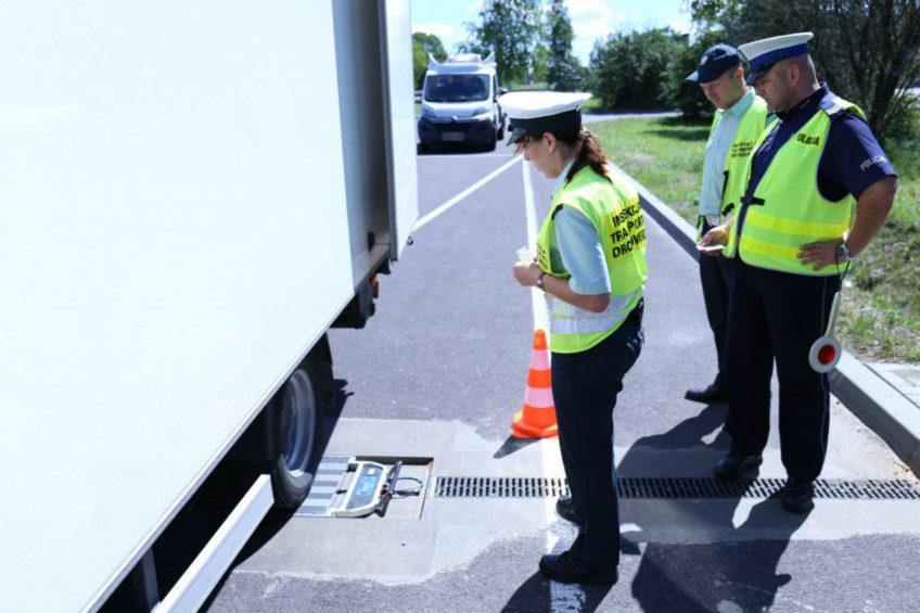 Na 97 dostawczaków 60 przeciążonych – akcja ITD Lublin i policji