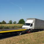 Renault Mascott odjechało na lawecie – 4 mandaty na 1300 złotych