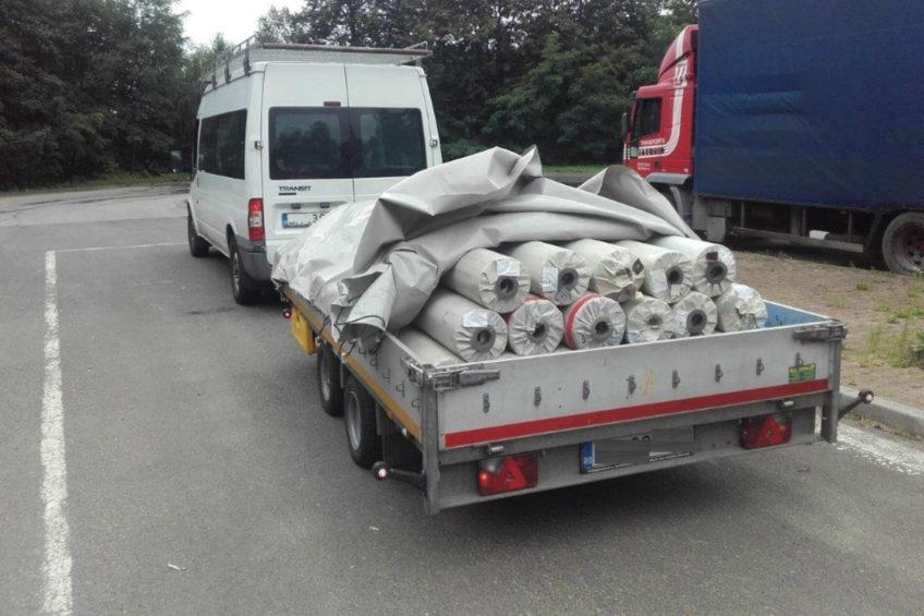 Rumuński Transit z przyczepką bez tachografu – 3000 złotych kary
