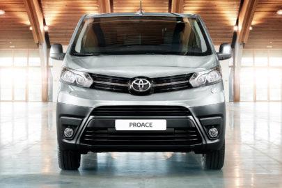 Toyota ProAce do serwisu – oprogramowanie i wyciek oleju