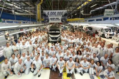 6-milionowe auto z fabryki SEVEL to Fiat Ducato 140 Natural Power