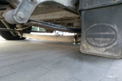 Fiat Ducato ważył 8 ton – dostawczak trafił na parking strzeżony