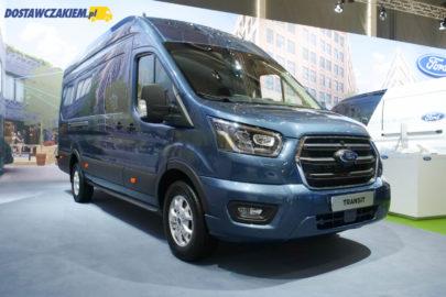Ford Transit 2019 z silnikiem 185 KM i 10-biegowym automatem