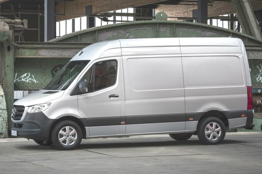 Nowy Mercedes Sprinter do serwisu – kampania dla W907/W910