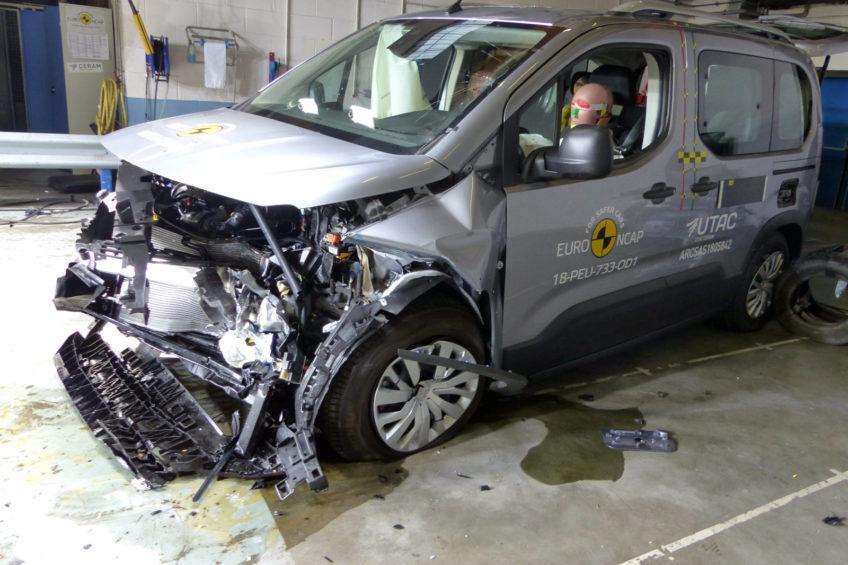 Berlingo, Rifter i Combo z 4 gwiazdkami Euro NCAP