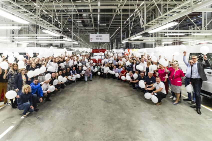 Fabryka Volkswagen Września wyprodukowała już 100 000 pojazdów