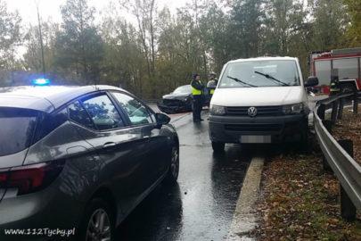 Kierowca VW Transportera spowodował kolizję – miał 2,4 promila