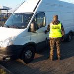 Skradzione w Andorze Iveco Daily zatrzymano w Kuźnicy