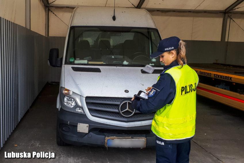 Sprinter kradziony a kierowca poszukiwany i z sądowym zakazem