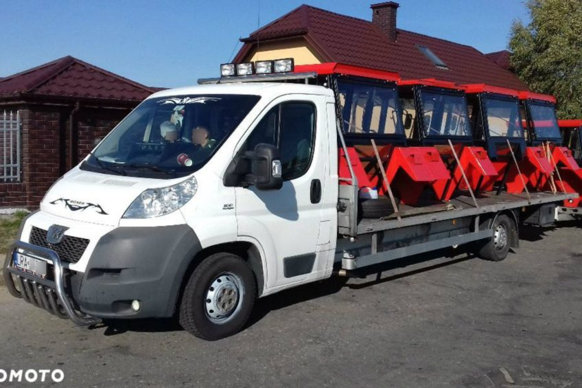 Peugeot Boxer z 5-metrowym rozstawem osi na otomoto.pl