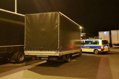 Przeładowane Iveco Daily na niemieckiej A10 – 7,1 zamiast 3,5 tony