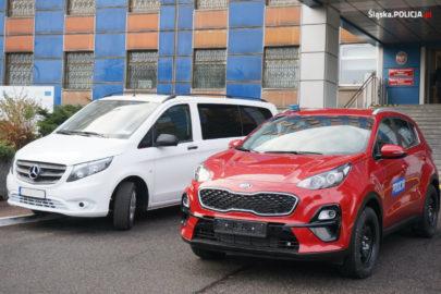Volkswageny T6 oraz Mercedesy Vito dla śląskiej policji